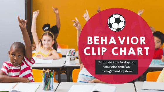 Behavior Clip Chart Soccer (English/Spanish)