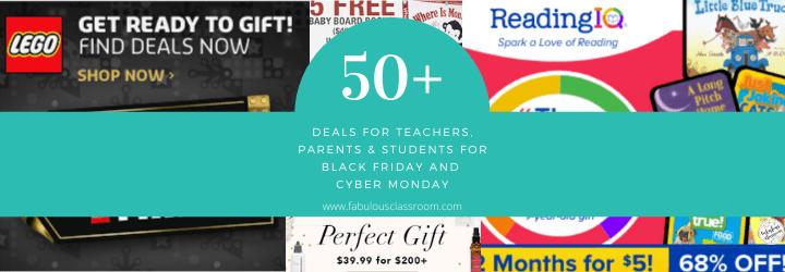 Black Friday Deals for Teachers, Parents & Students