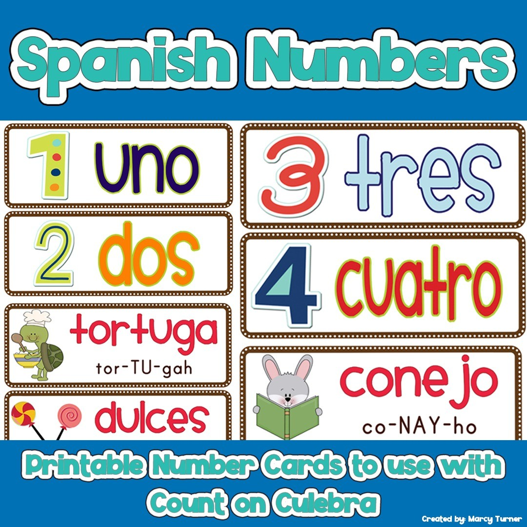 Learn Spanish Numbers with Fun Activities